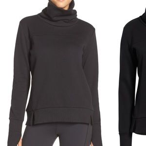 ALO Haze Funnel Neck Sweatshirt XS